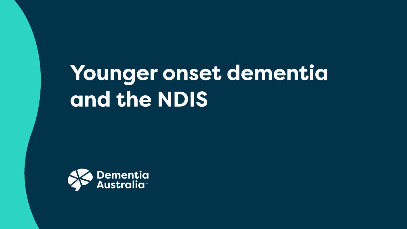 Younger onset dementia & the NDIS - video thumbnail