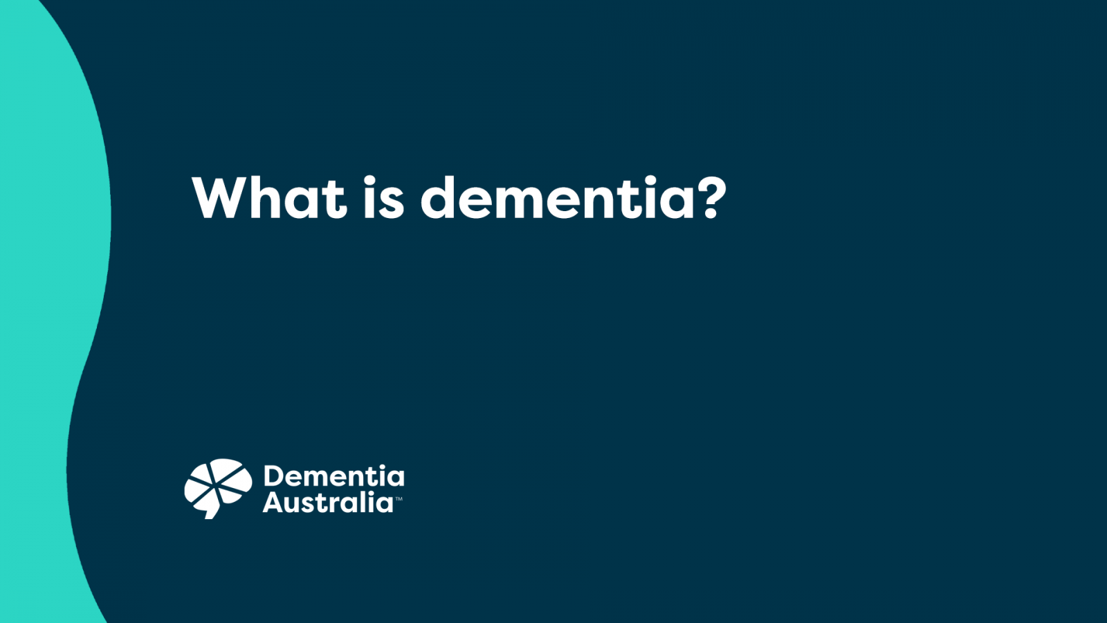 What is dementia? - Video Thumbnail
